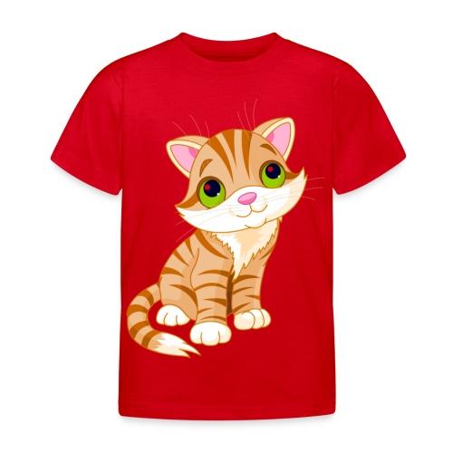 Tigerkatze - Kinder T-Shirt