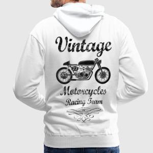 motorcycles racing team Hoodies & Sweatshirts - Men's Premium Hoodie