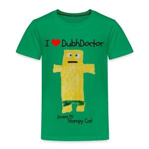 I Love DubhDoctor - Kids' Premium T-Shirt