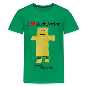 I Love DubhDoctor - Teenage Premium T-Shirt