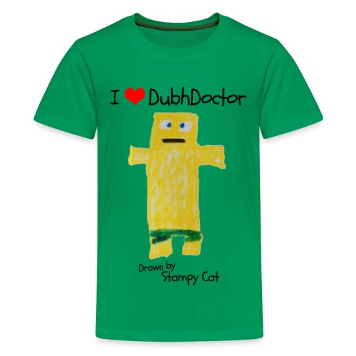 I Love DubhDoctor - Teenage Premium T-Shirt