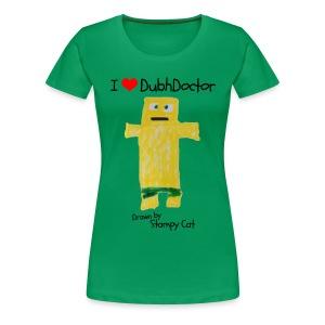 I Love DubhDoctor - Women's Premium T-Shirt
