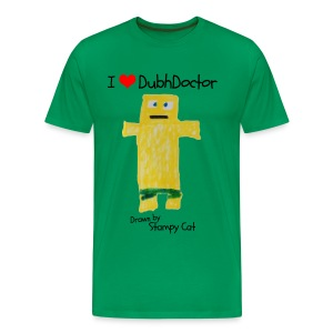 I Love DubhDoctor - Men's Premium T-Shirt