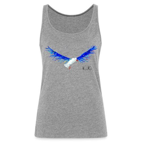 Seagull - wings Women's tank - Frauen Premium Tank Top