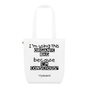 OrganicBag and BeConscious Black - EarthPositive Tote Bag