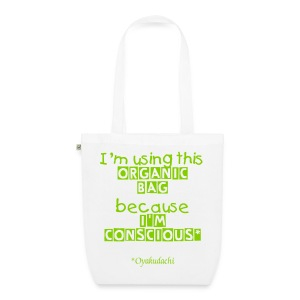 OrganicBag and BeConscious Apple Green - EarthPositive Tote Bag