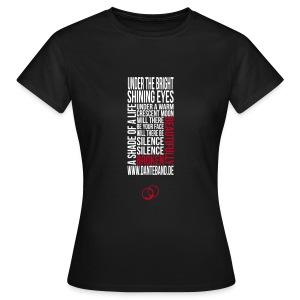 DANTE T-Shirt woman black - beautifully broken - Frauen T-Shirt