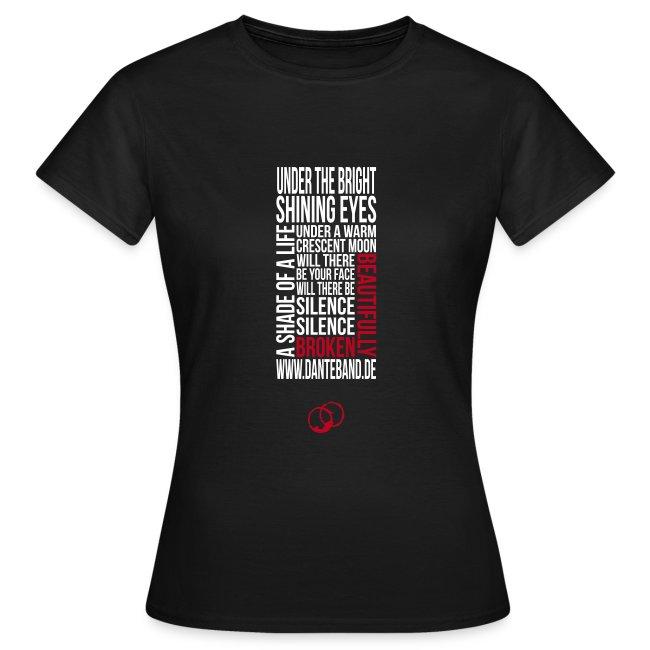 DANTE T-Shirt woman black - beautifully broken