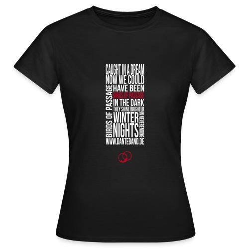 DANTE T-Shirt woman black - birds of passage - Frauen T-Shirt