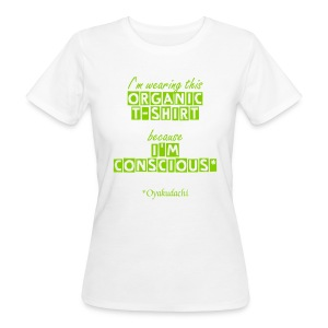 OrganicT-shirt and BeConscious AppleGreen W - Women's Organic T-shirt