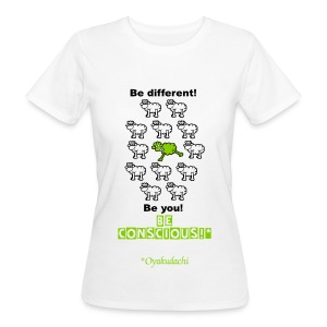 GreenSheep BeConscious AppleGreen W - Women's Organic T-shirt
