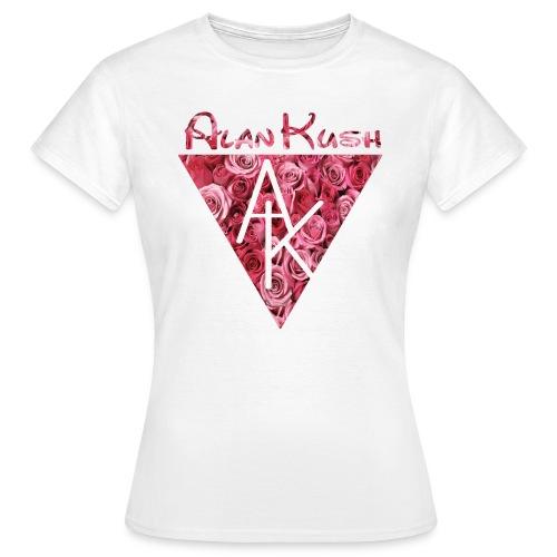 Frauen T-Shirt AK Rosen weiß - Frauen T-Shirt