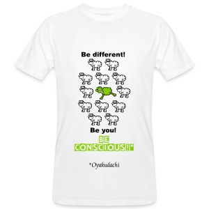 GreenSheep BeConscious AppleGreen M - Men's Organic T-shirt