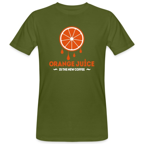 Orange Juice - Mannen Bio-T-shirt