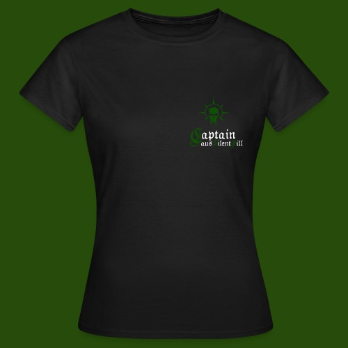Frauen-T-Shirt Captain aus Silent Hill mit Abzeichen - Frauen T-Shirt