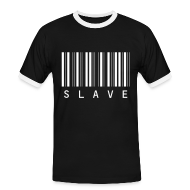 T-Shirts ~ Men's Ringer Shirt ~ slave