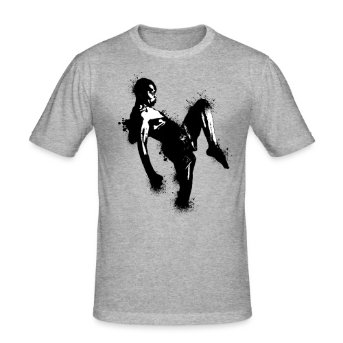 T-shirt  ADERENTE UOMO Thai boxer - Maglietta aderente da uomo