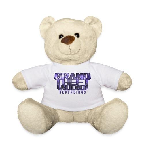 Grand Theft Audio Logo Teddy Bear White/ Purple - Teddy Bear