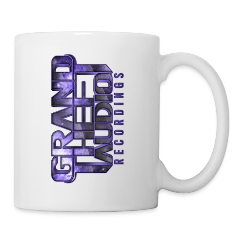 Grand Theft Audio Logo Mug White/ Purple - Mug