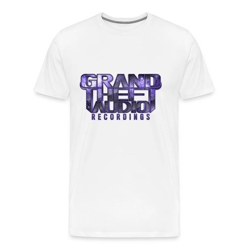 Mens Grand Theft Audio Purple Logo T-shirt - Men's Premium T-Shirt