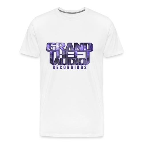 Mens Grand Theft Audio Purple Logo T-shirt - Men's Premium T-Shirt