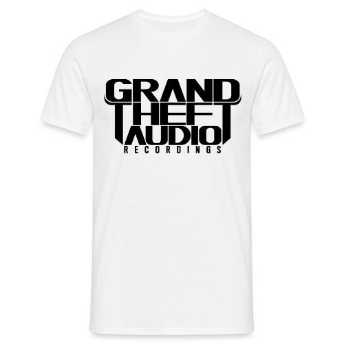 Mens Grand Theft Audio Black Logo T-shirt - Men's T-Shirt