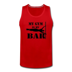 Canotta UOMO my gym is my bar - Canotta premium da uomo