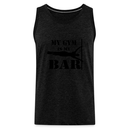 Canotta UOMO my gym is my bar - Canotta premium da uomo