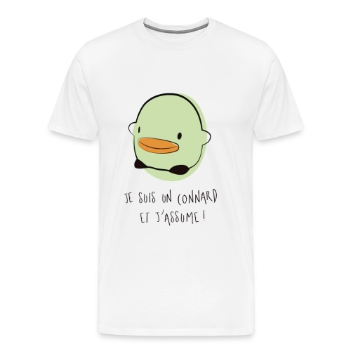 Je suis un connard et j'assume ! - T-shirt Premium Homme