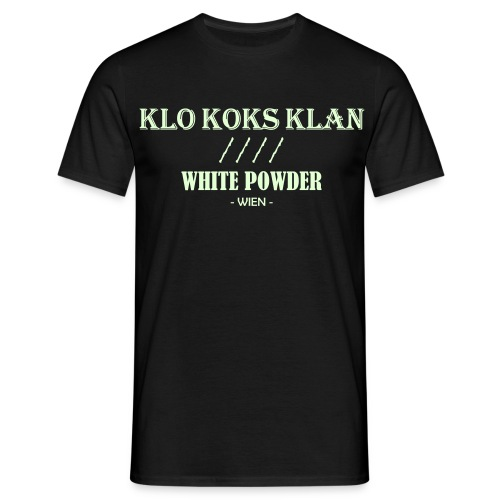 Klo Koks Klan - Leuchtet im Dunkeln - Männer T-Shirt