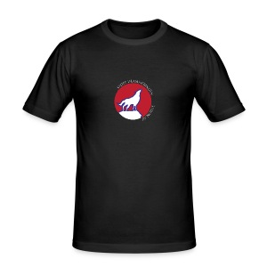Slim-fit T-skjorte for menn – rund logo (ver. 2) - Slim Fit T-skjorte for menn