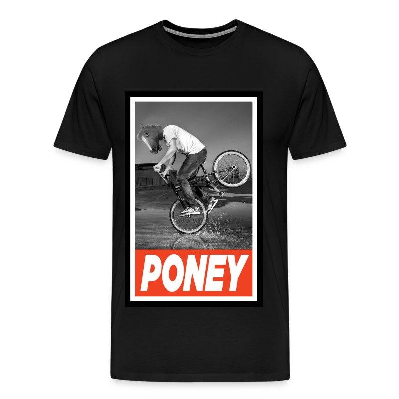 PONEY BMX.jpg - T-shirt Premium Homme
