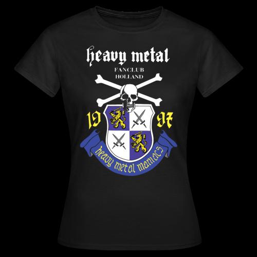 Heavy Metal Maniacs Logo Girls basic - Vrouwen T-shirt