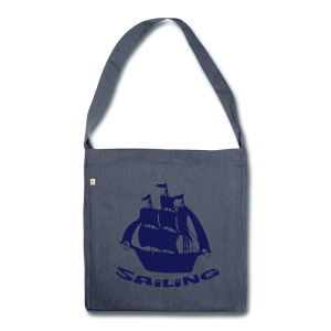 Sailing - Schultertasche aus Recycling-Material