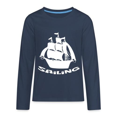 Sailing - Teenager Premium Langarmshirt