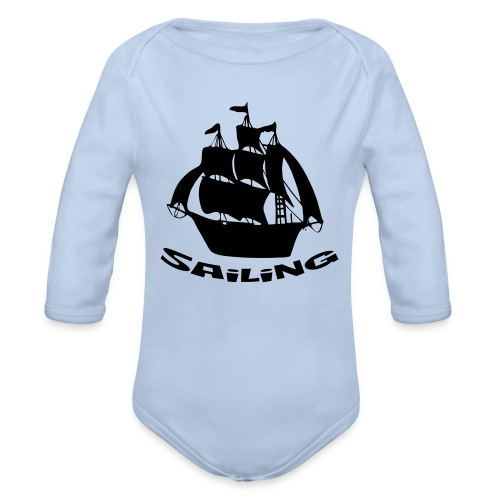 Sailing - Baby Bio-Langarm-Body