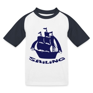 Sailing - Kinder Baseball T-Shirt