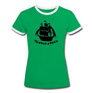 Sailing - Frauen Kontrast-T-Shirt