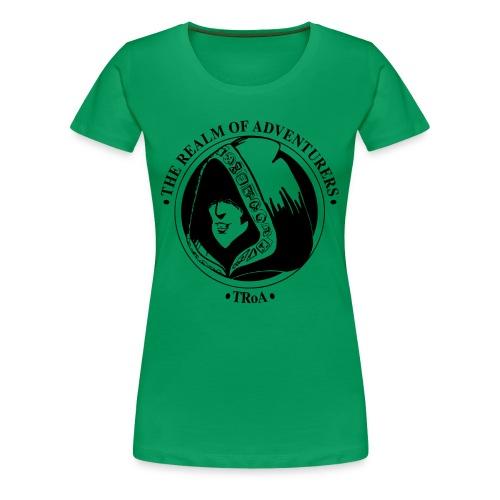 Dame 2 - Dame premium T-shirt