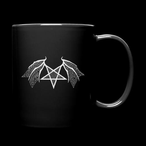 Tasse mit struktur Flügelpentagram hellgrau - Tasse einfarbig