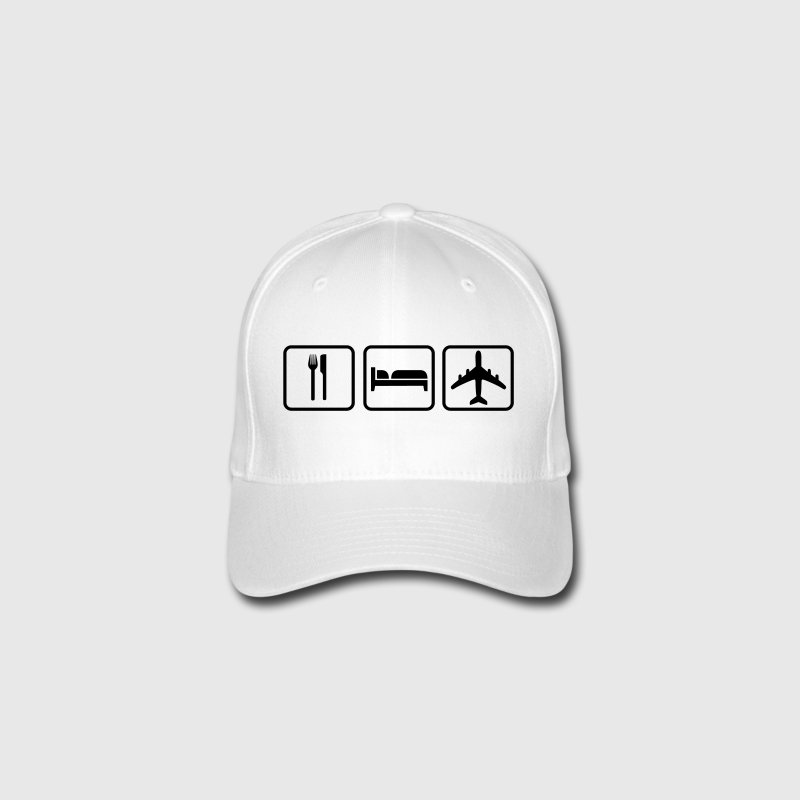 Eat Sleep Fly Caps & Hats - Flexfit Baseball Cap