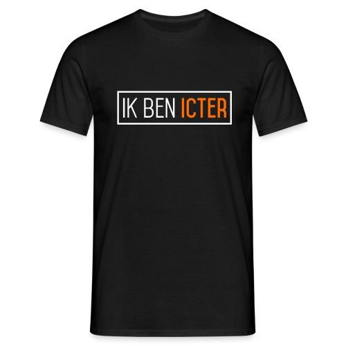 Ik ben ICTer, Zwart - Mannen T-shirt