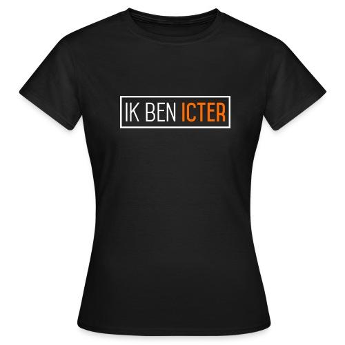 Ik ben ICTer, ZWART - Vrouwen T-shirt