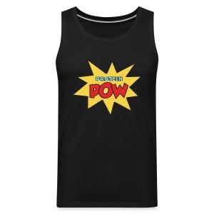 Protein Pow Muscle Top (Men's) - Men's Premium Tank Top