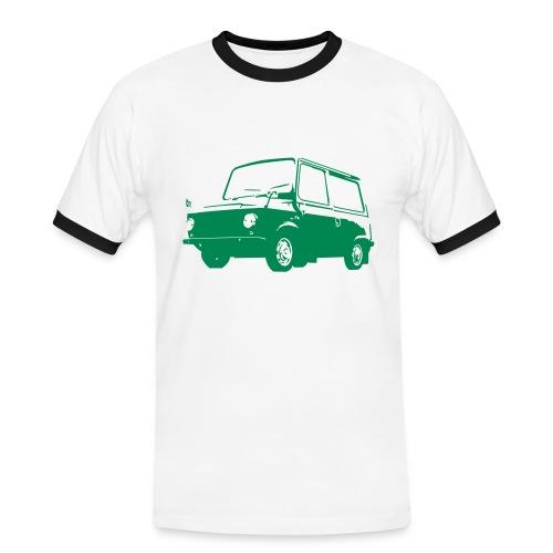 Skryttjorv grön - Kontrast-T-shirt herr