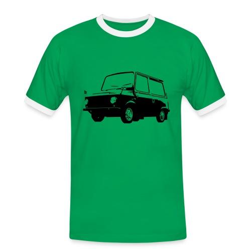 Skryttjorv svart - Kontrast-T-shirt herr