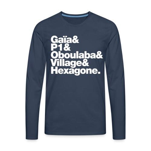Monta Spirit #4 Manche Longues - T-shirt manches longues Premium Homme