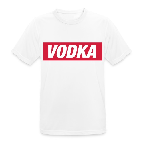 Vodka - mannen T-shirt ademend