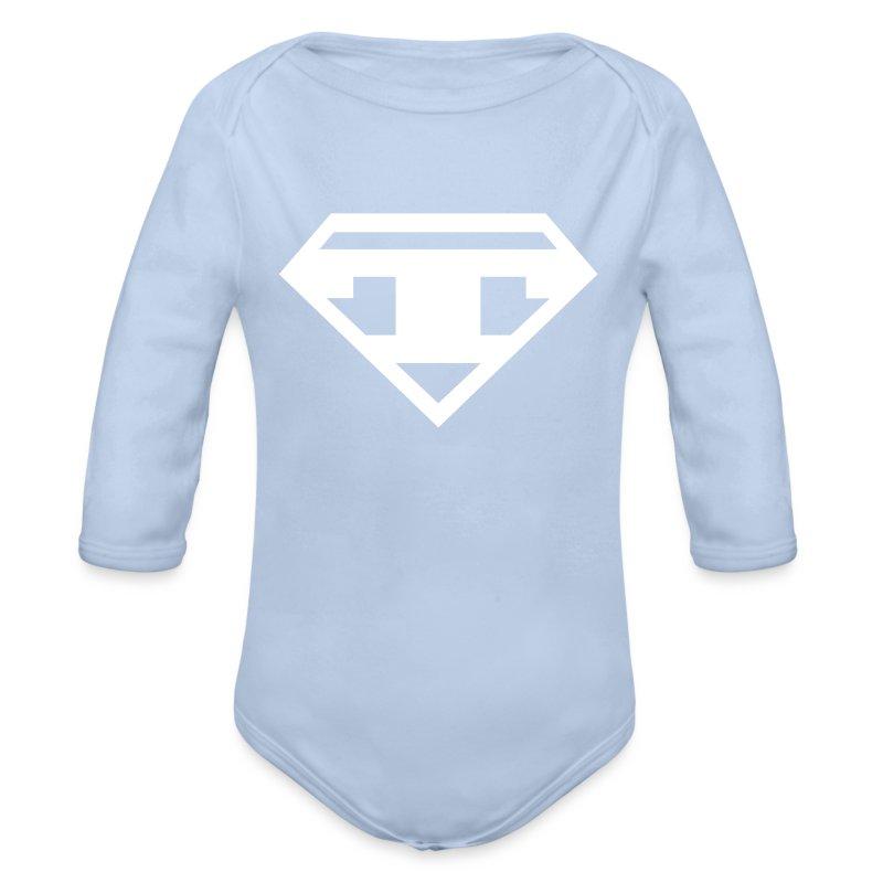T-Romper - Organic Longsleeve Baby Bodysuit