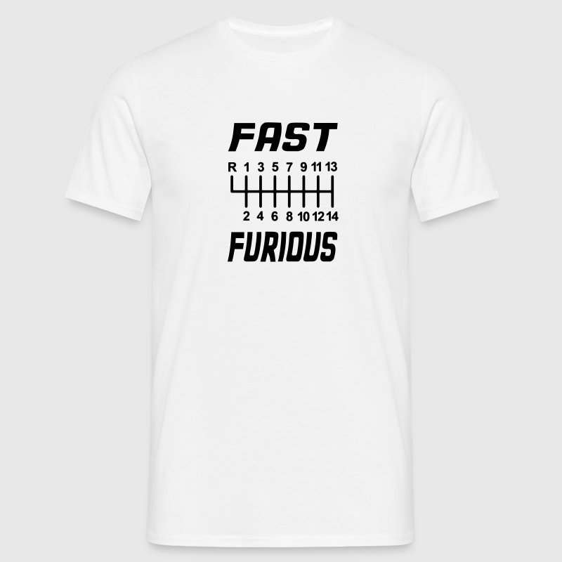 fast furious T-Shirts - Men's T-Shirt